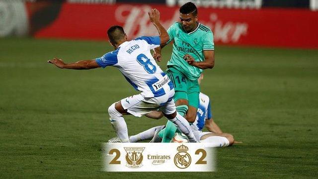 皇马2-2客平莱加内斯,拉莫斯、阿森西奥建功
