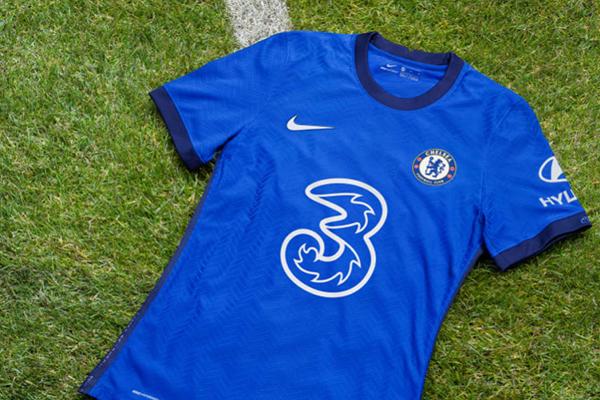 切尔西2021赛季球衣曝光,全新赞助商,看起来更加的帅气