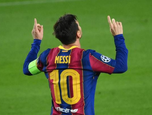 梅西再破记录 连续16赛季欧冠破门
