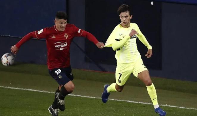 2020/21赛季西甲第8轮奥萨苏纳对马德里竞技战报
