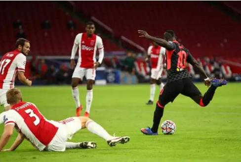 欧冠2020/2021中日德兰vs阿贾克斯比赛回放