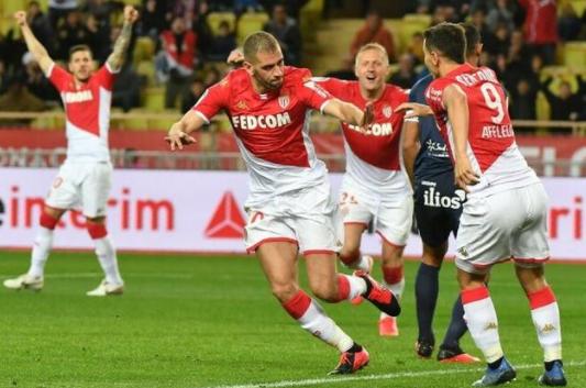 摩纳哥1-0战胜蒙彼利埃 前法甲冠军强势归来
