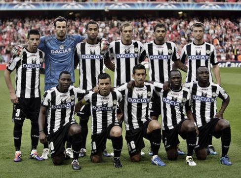 乌迪内斯足球俱乐部阵容、赛程、球员、数据资