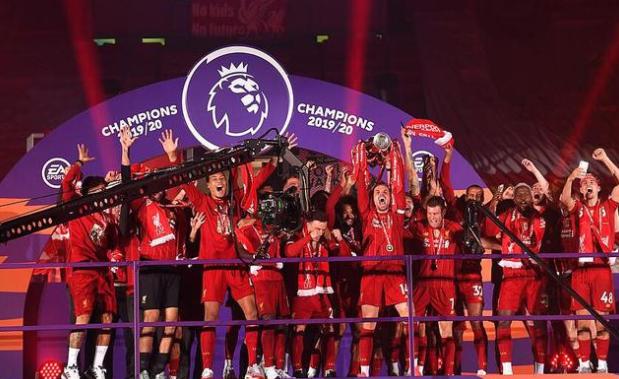 利物浦仅用时79分钟就获得英超冠军,创历史记录