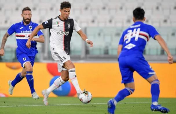 2020意甲36轮尤文图斯2-0桑普多利亚比