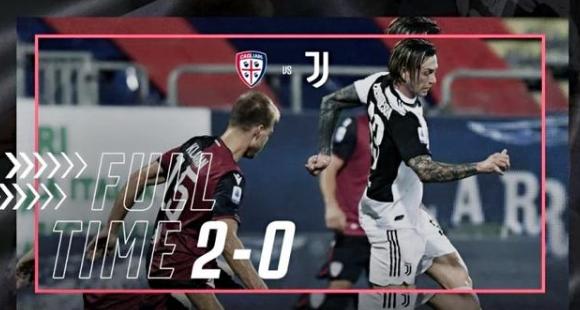2020意甲37轮卡利亚里2-0尤文图斯比赛