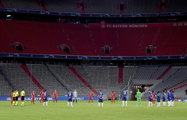 2020欧冠1/8决赛拜仁慕尼黑4-1切尔西比赛回放