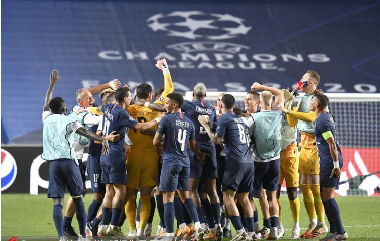 巴黎圣日耳曼9年欧冠命运坎坷 终于首次的进入了