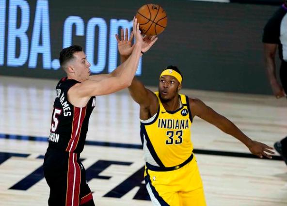 NBA2020季后赛热火vs步行者比赛录像 NBA季后赛8.2