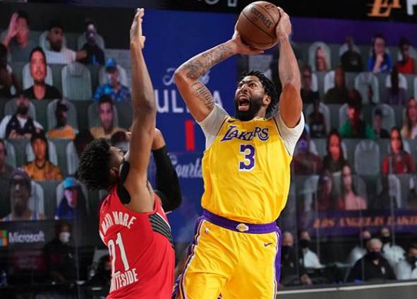 NBA2020季后赛开拓者vs湖人第二场比赛战报