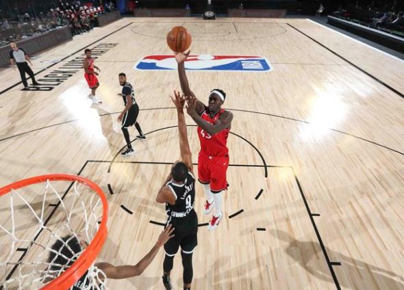 NBA2020季后赛猛龙vs篮网第三场比赛战报