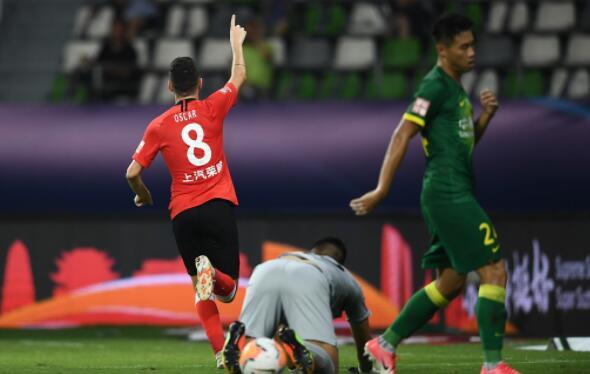 2020赛季中超联赛第6轮北京国安对阵上海上港战报