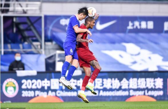 2020年中超联赛第七轮河南建业对战上海绿地申花