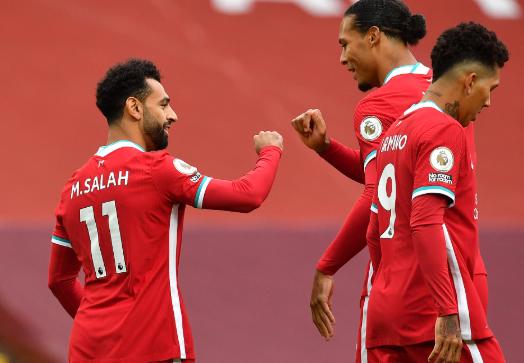 英超2020-2021赛季第一轮利物浦vs利兹联