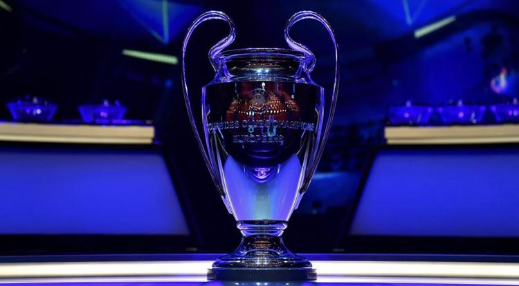 欧冠球队分档:各联赛冠军第一档,