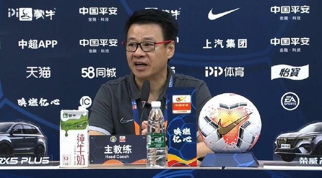 吴金贵看清楚了自己的现状 认识到了与北京国安