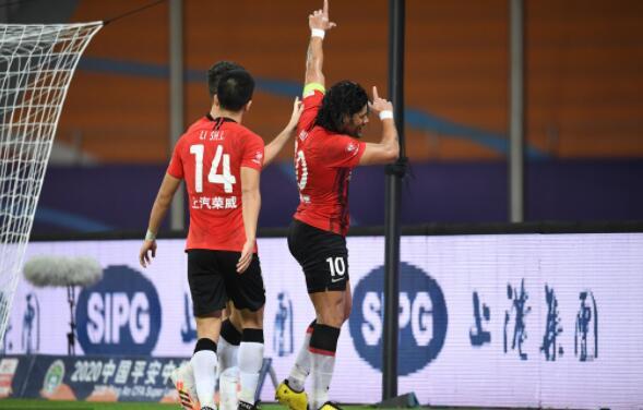 2020赛季中超联赛第13轮上海上港对阵北京国安战