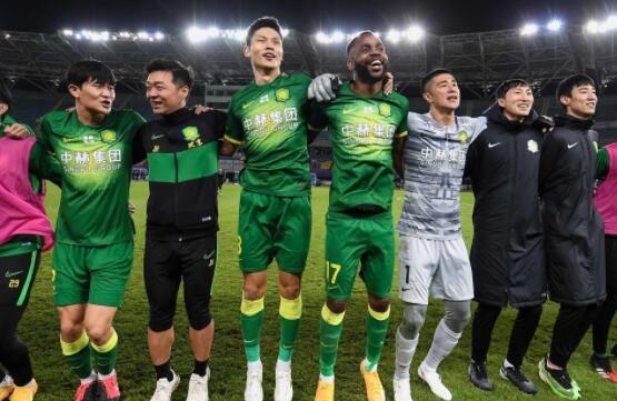 2020赛季中超争冠组北京国安对战山东