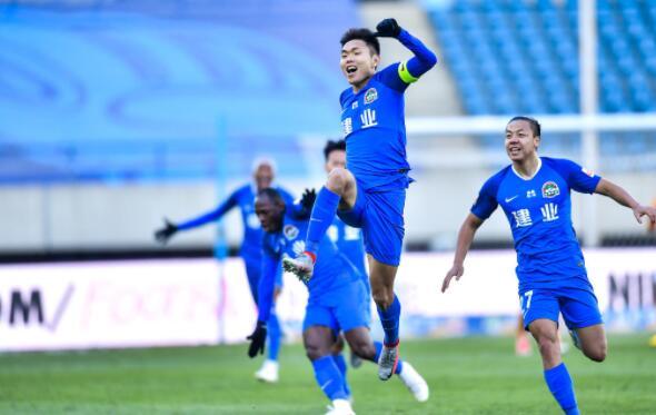 2020中超联赛保级组武汉卓尔对阵河南