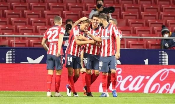 2020/21赛季西甲第7轮马德里竞技对皇家贝蒂斯战报