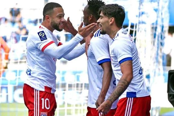 2020/21赛季法甲第8轮里昂对摩纳哥战报